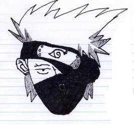 Kakashi Sketch by AAurion