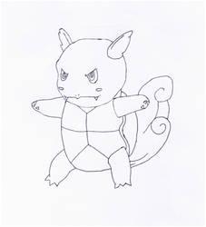 Wartortle Pen Sketch