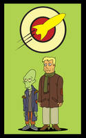 Zap and Kif by SymbolicSin