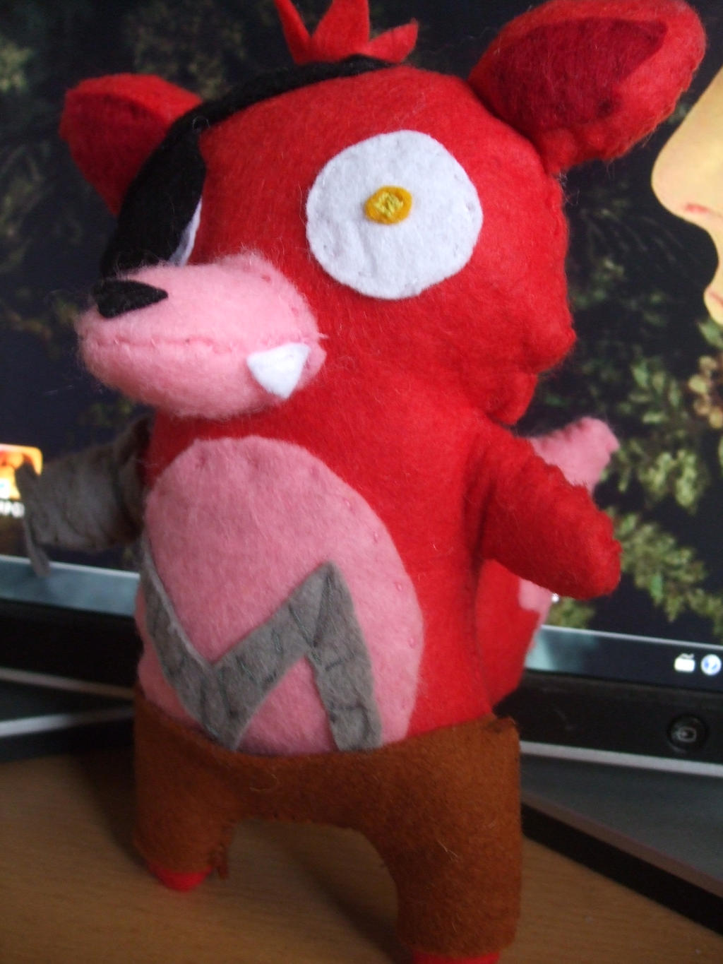 Five nights at freddy s foxy plush by terrmedia on deviantart