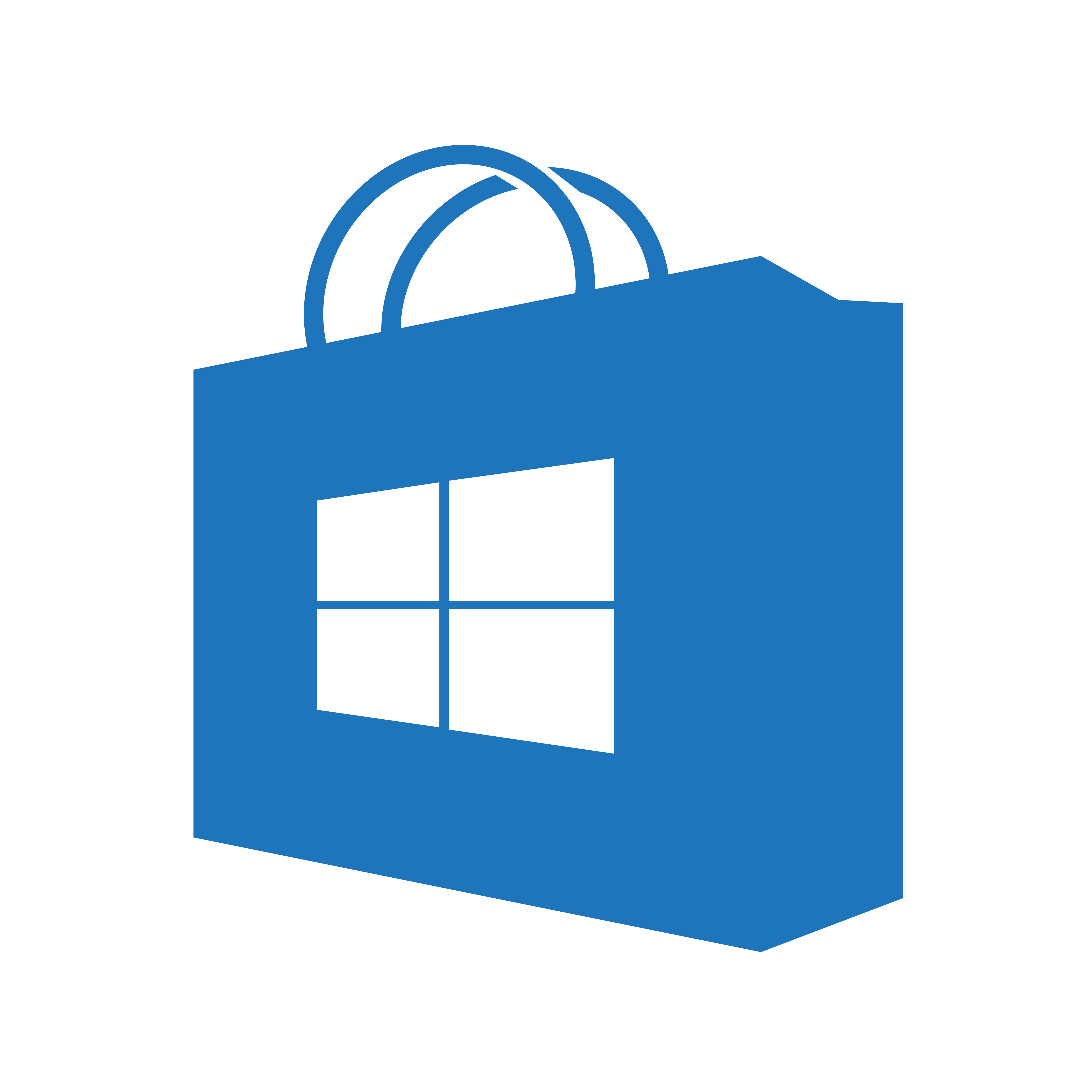 Windows Store icon (transparent/blue) (homemade) by bannax1994 on DeviantArt