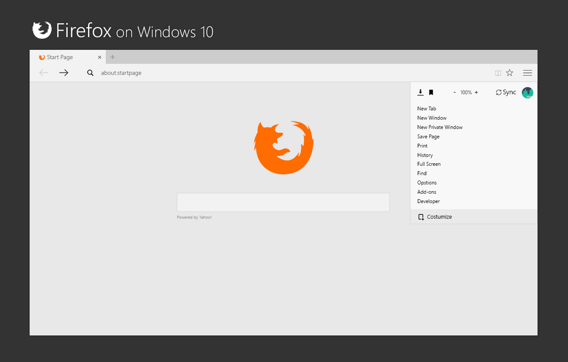 Mozilla Firefox on Windows 10 by bannax1994 on DeviantArt  Mozilla Firefox...
