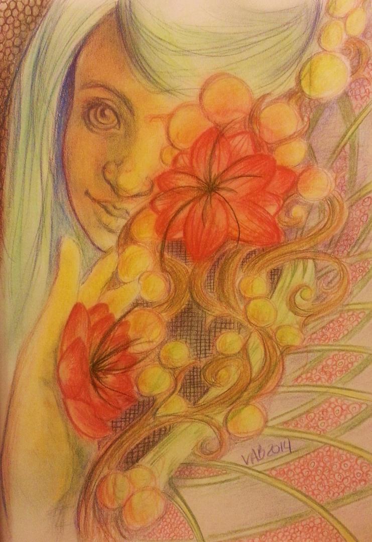 Yellow Fingers by GreenAngel5