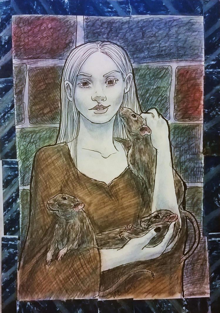 School of Good and Evil: Anadil by GreenAngel5