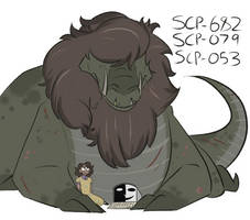 SCp-682, SCP-079, and SCP-053