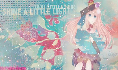 Shine a little light - Megurine Luka. by KuNeko-Sama