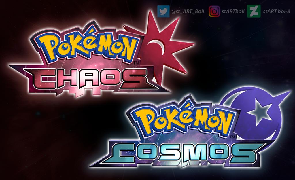 Pokemon Chaos And Cosmos By Startboi 8 On Deviantart