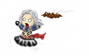 Alucard vs Hector by ShatteredNightblade