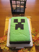 Creeper Cake by Dio773