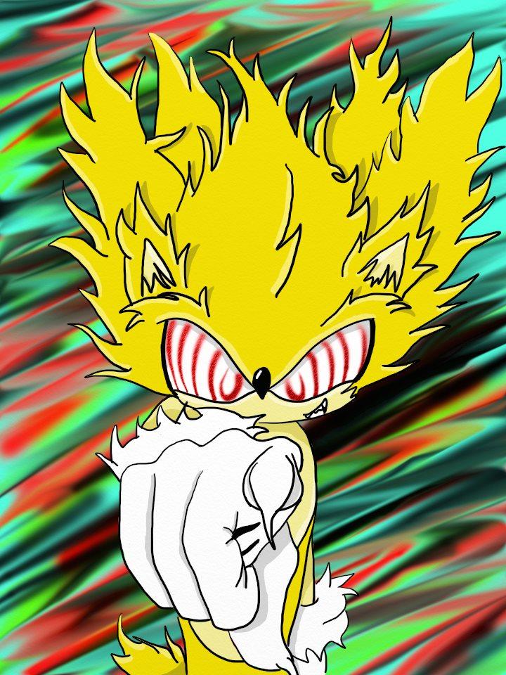 Fleetway Super Sonic by iammemyself