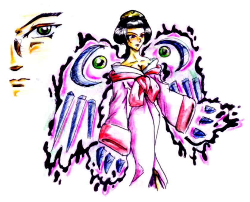 Mistic Geisha by shadowcatxavier