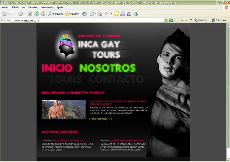 Gay web page
