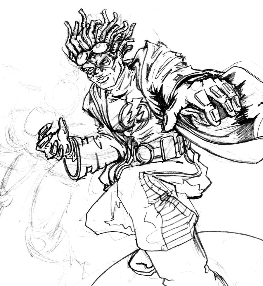 static shock coloring pages | Static Shock Sketch by shadowcatxavier on DeviantArt