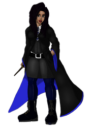 Hogwarts OC by ChaoticDeluge