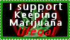 Keep weed illegal by 1996naruto
