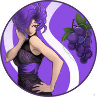 Grape Girl by monkingjonathan