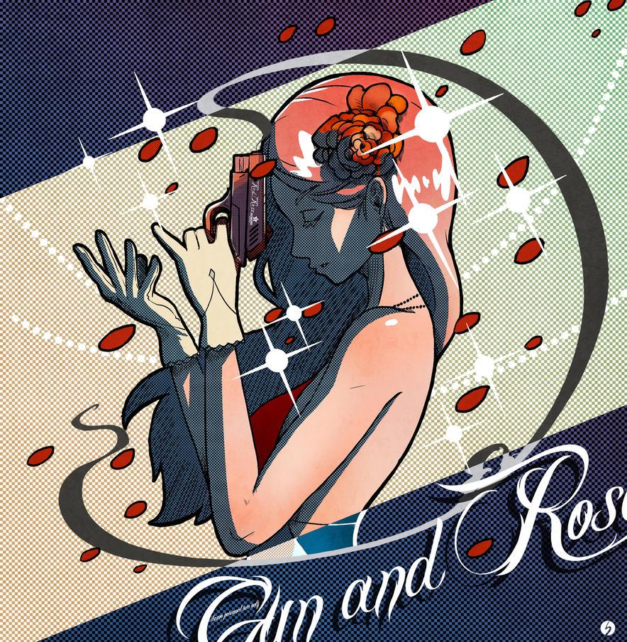 Gun And Rose by monkingjonathan