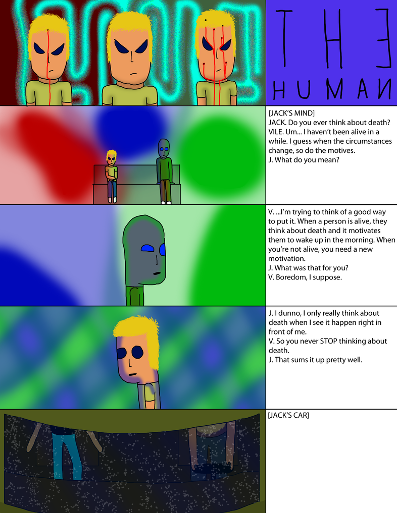 The Human, Short Change, Act 2, Page 1 by jackgunski