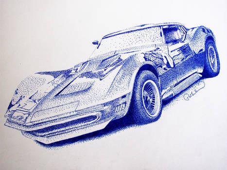 Dotted Corvette