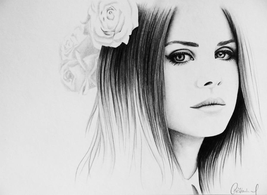 Lana Del Rey by smudlinka66 on DeviantArt
