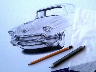 Pink Cadillac WIP by smudlinka66