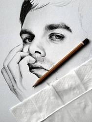 Dexter, in progress by smudlinka66