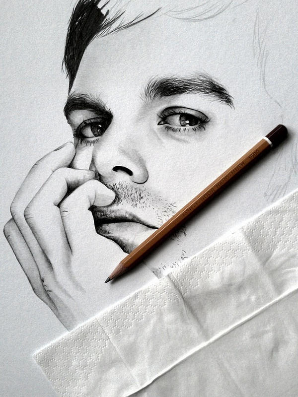 Dexter, in progress by smudlinka66
