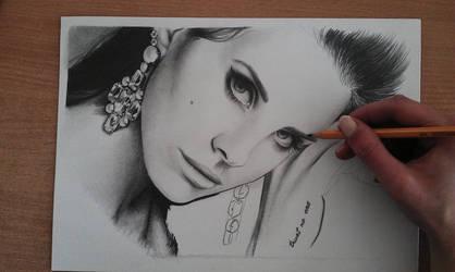 Lana. WIP by smudlinka66