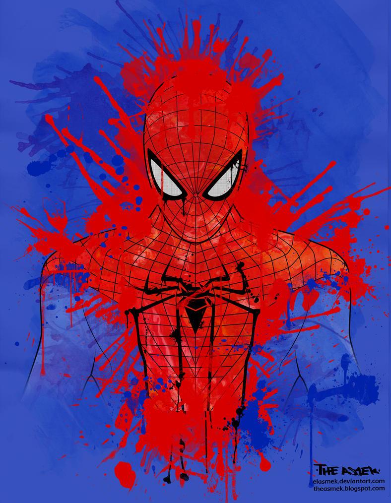 the amazing spiderman by ElAsmek