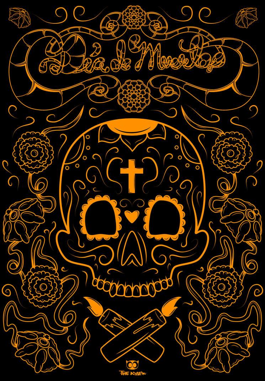 Dia de muertos by ElAsmek