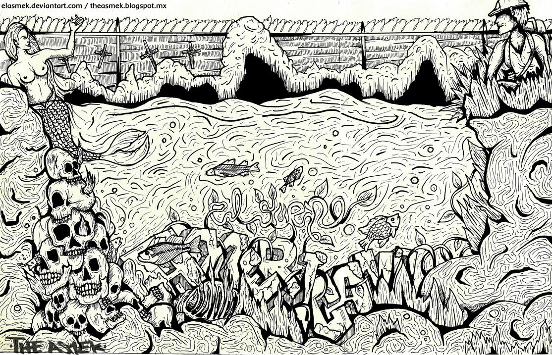 The american dream sketch by ElAsmek