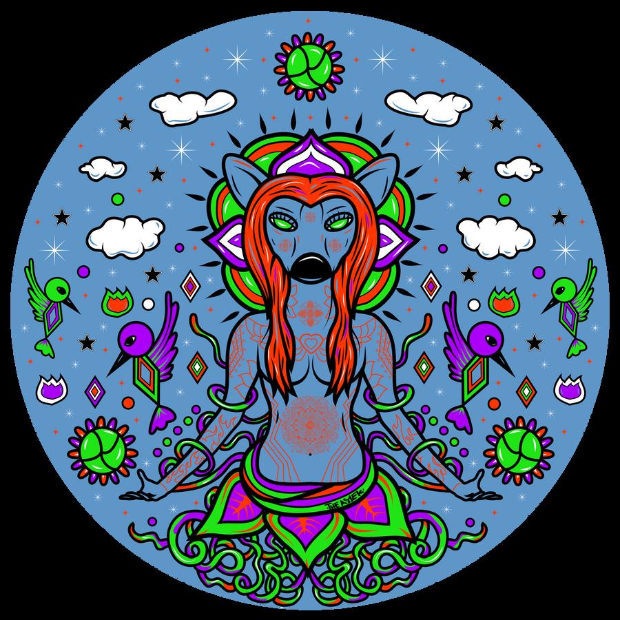 Nuestra Madre Hikuri by ElAsmek
