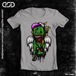 Zombie t-shirt by ElAsmek