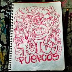 Putos puercos by ElAsmek