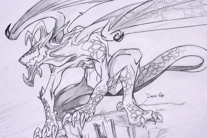 Fire Dragon by Deech18