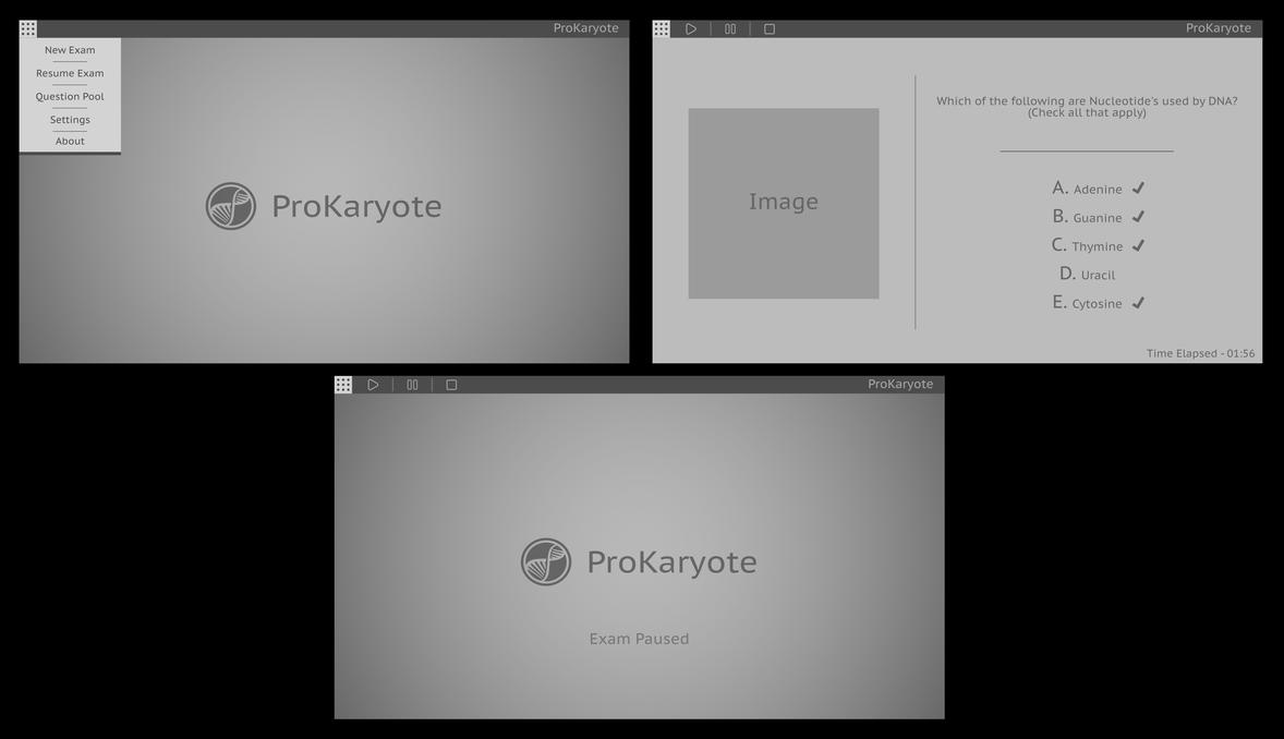 ProKaryote Application Concept Art by JoryRFerrell
