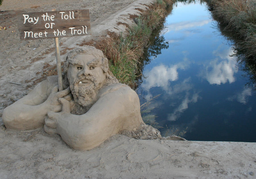 Toll Troll by BuckarooJoe