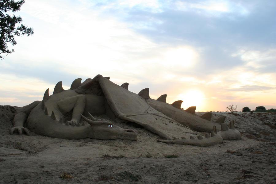Sand Dragon by BuckarooJoe
