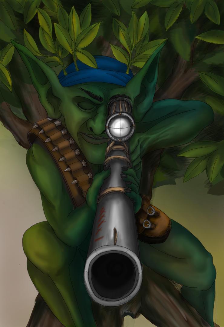 Goblin Sniper by BuckarooJoe