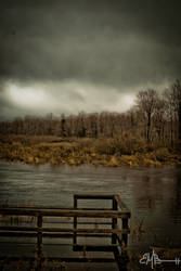 High waters and grey skies by GeneralERandom