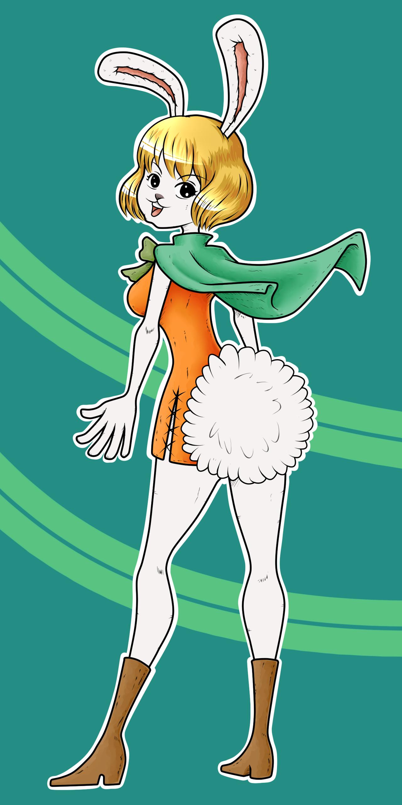 One Piece Carrot by KarmaFez on DeviantArt