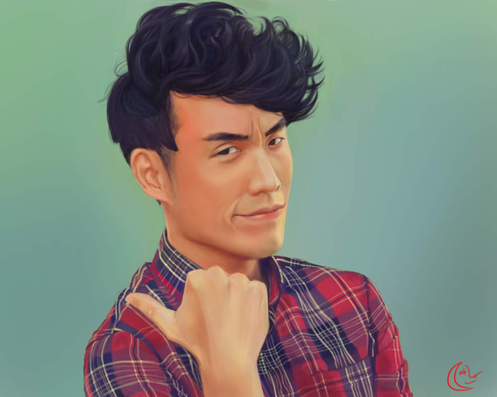 Imitation Eugene Lee Yang from the Buzzfeed by MoonDaran on