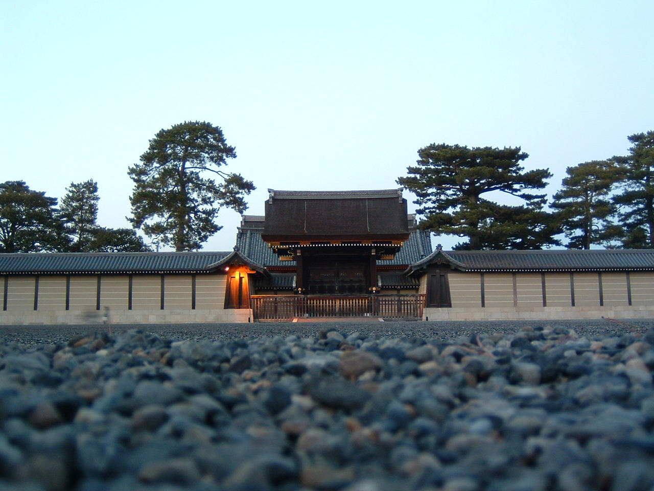 The Kyoto Imperial Palace by hitokirivader