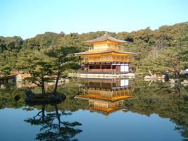 Kinkakuji Temple by hitokirivader