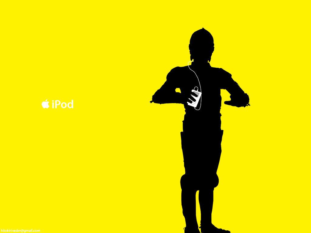 C-3PO iPod ad by hitokirivader