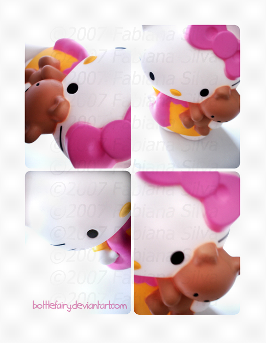 Hello Kitty by bottlefairy