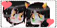 Karkat x Nepeta stamp by Mundochibi