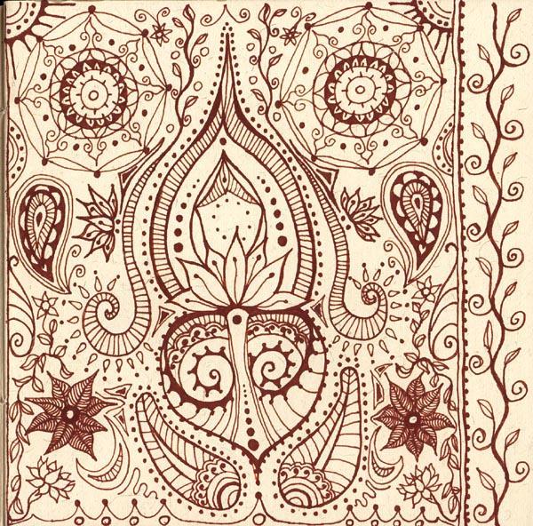 Mehndi Henna Pen : Mehndi in pen by chaoticatcreations on deviantart
