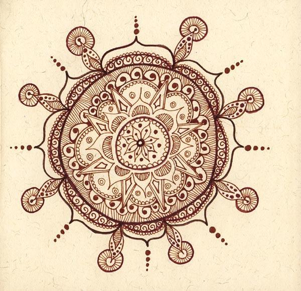 Mehndi Mandala 2 by ChaoticatCreations