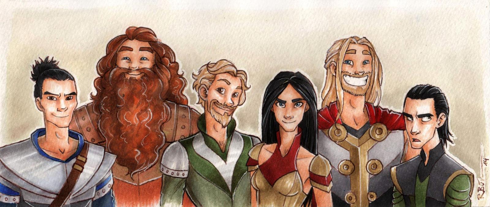 Warriors of Asgard by CaptBexx